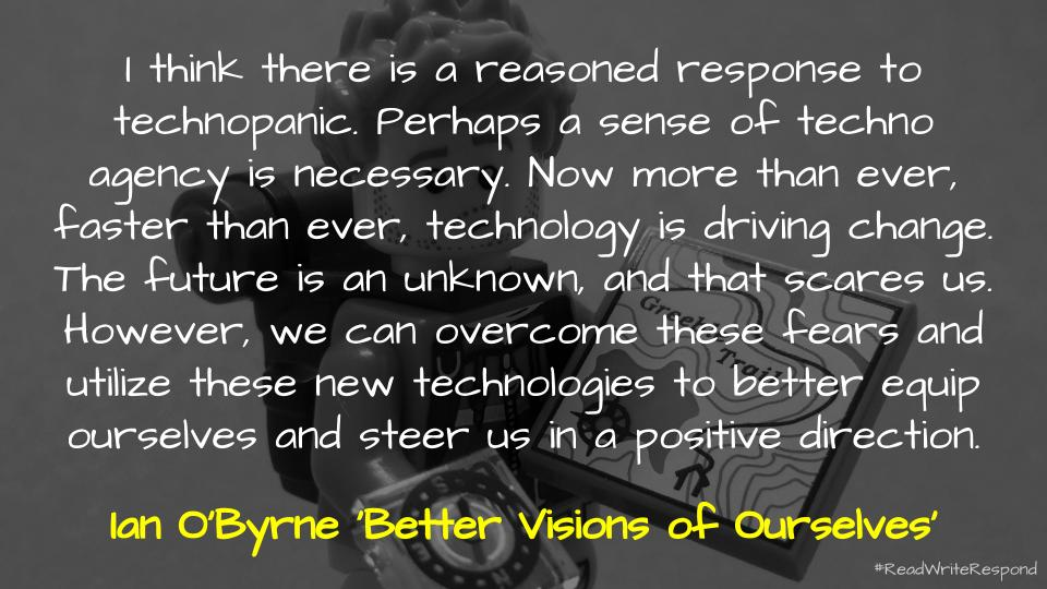 Quote via Ian O'Byrne