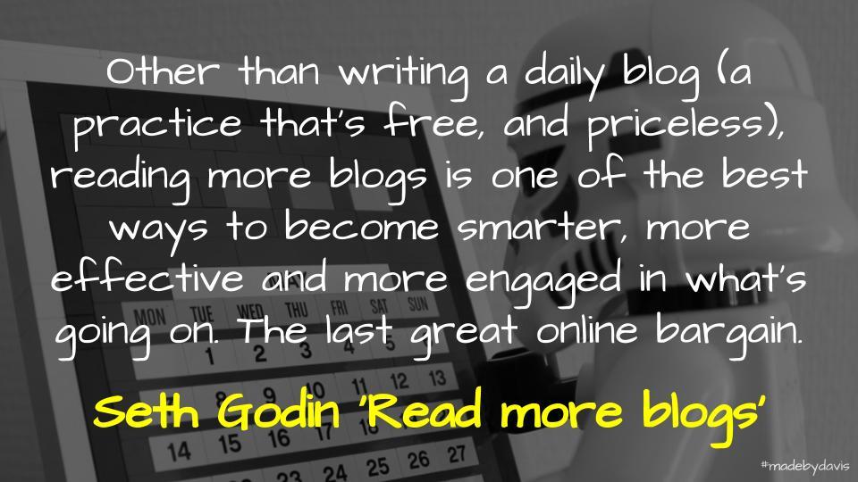 💬 The educational blogosphere