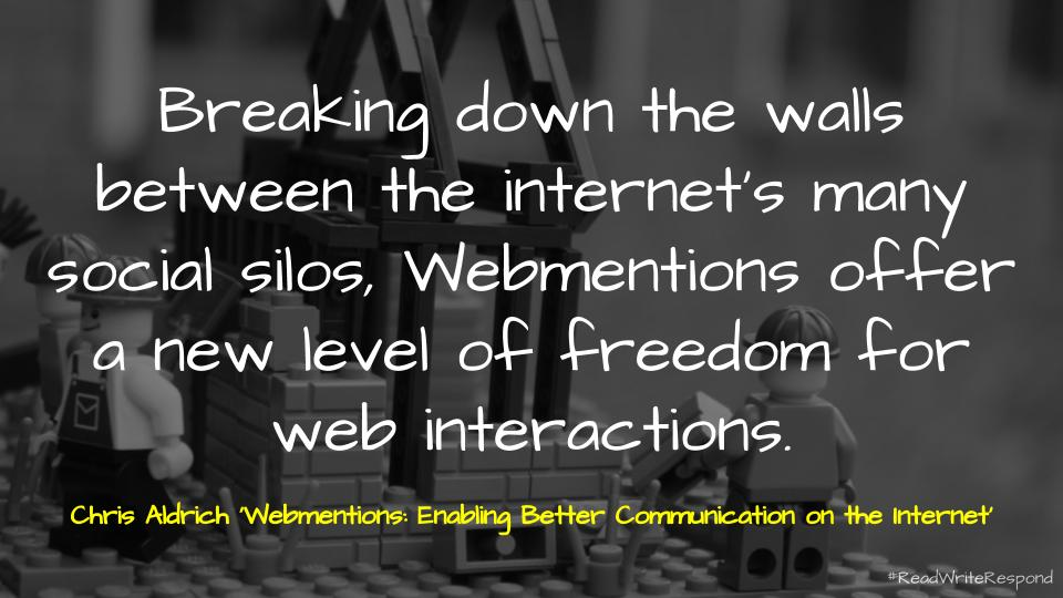 📑 Webmentions: Enabling Better Communication on the Internet